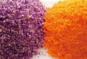紫キャベツと人参のミジン切り